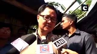 All precautionary measures are being taken: Kiren Rijiju on Brahmaputra river blockage