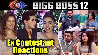 Bigg Boss Ex Contestant Reaction On Bigg Boss 12 | Dipika, Surbhi, Karanvir, Deepak
