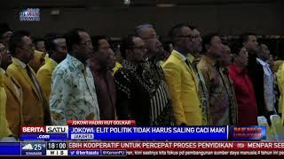 Jokowi: Tugas Berat Parpol Kembalikan Kepercayaan Masyarakat