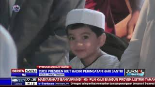 Cucu Jokowi Curi Perhatian Ribuan Santri di Surakarta