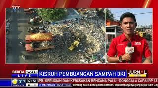 Tumpukan Sampah di Muara Baru Menggunung hingga 6 Meter