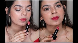 NYKAA ULTRA MATTE LIPSTICK REVIEW & SWATCHES
