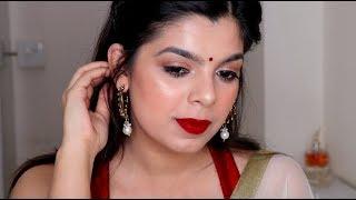 Karva Chauth Makeup | करवा चौथ मेकअप | 2018 | करवा चौथ मेकअप कैस करे