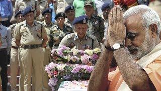 जवानों की शहादत  को याद करके भावुक हुए प्रधानमंत्री मोदी |