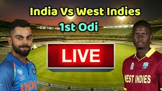 India vs West Indies 1st Odi Live Streaming Match Video & Highlights