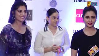 Sumona Chakraborty, Rashmi Desai, Pooja Gor At Tennis Premier League Launch 2018 - Full Interview