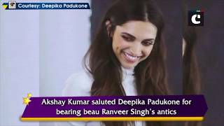 Hats off to Deepika for being with Ranveer- Akshay on KWK