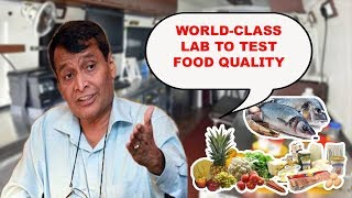 World-Class Lab To Test Food Quality