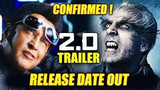 2.0 Trailer Release Date Confirmed | Rajnikanth, Akshay Kumar | Robot 2.0
