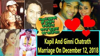 Kapil Sharma To Marry His Girlfriend Ginni Chatrath On December 12 2018 In Jalandhar