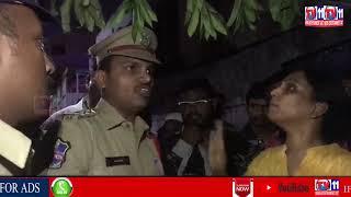 GHMC DEMOLISH PAN SHOP AT BANJARA HILLS AREA STOP BY VIJAYA REDDY  KHAIRATABAD CORPORATOR