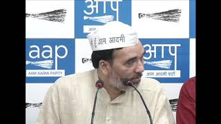 AAP Delhi Convenor Gopal Rai Introduces Frontal Organisation AAP Youth Wing and AAP Senior Wing