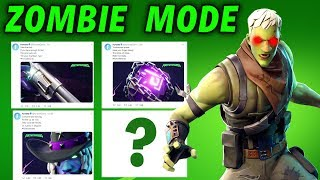 FORTNITEMARES ZOMBIE MODE LEAK STARTS IN 2 DAYS - ZOMBIE GAME MODE COMING IN FORTNITE