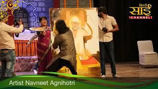 Sai Baba Live Painting | Navneet Agnihotri | Shailendra Bhartti | Speed Painting | Sirifort Audi