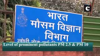 Air quality continues to remain poor in Delhi