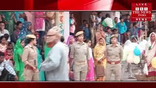 [ Bahraich ] नानपारा में निकाली गई श्री मां अंबे की शोभायात्रा / THE NEWS INDIA