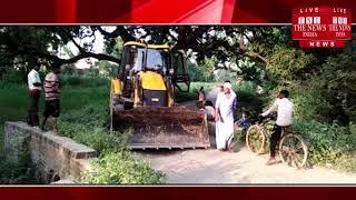 [ Allahabad ] भूमाफियों के खिलाफ योगी सरकार का दावा फेल, सरकारी मिशनरी नहीं हटा पा रहा अतिक्रमण