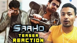 SAAHO Teaser | Shades Of Saaho | REVIEW | REACTION | Prabhas, Shraddha Kapoor