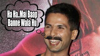 """Shahid Kapoor - """"Ha Ha Mai Baap Banne Wala Hu""""    Udta Punjab Trailer Launch"""