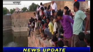 भरतपुर, नहर मे कूदकर युवती ने दी जान । Death of a young girl in the canal