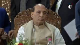 Rajnath Singh holds review meeting on security situation in Jammu and Kashmir