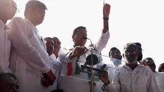 Randeep Singh Surjewala addresses Jawab Do Hisab Do Rally at Jantar Mantar