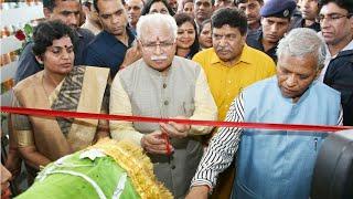 पंचकूला खबर मुख्यमंत्री मनोहर लाल ने किया करोड़ों रुपए की परियोजनाओं का उद्घाटन