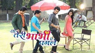 Arjun Kapoor Promotes KI & Ka On The Sets of Woh Teri Babhi Hai Pagle