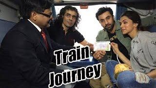 Ranbir Kapoor and Deepika Padukone's Train Journey