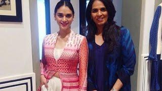 Aditi Rao Hydari Looks Stunning at Anita Dongre Collection Launch