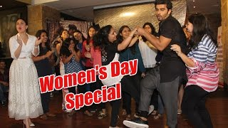 Arjun Kapoor & Kareena Kapoor Celebrate Women's Day & Ki & Ka Event