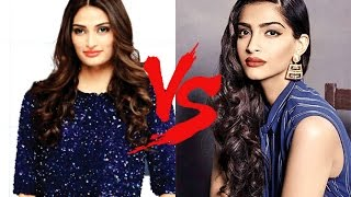 Athiya Shetty's statement when compared with Sonam Kapoor's fashion style