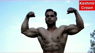 #MrKashmir2018 Young Boy From Sopore Clinched Mr Kashmir Title in Body Building.