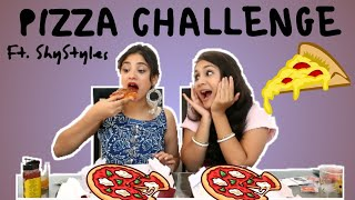 Pizza Challenge featuring Saima from ShyStyles | Nidhi Katiyar