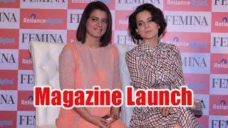 Kangana Ranaut Arrives at The Femina Magazine Launch