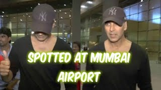 Akshay Kumar Spotted At Mumbai Airport