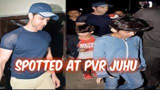 Hritik Roshan  Spotted  At Juhu PVR