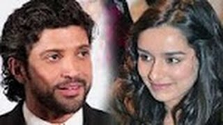 Here's Shraddha Kapoor's take on her link up with Farhan Akhtar