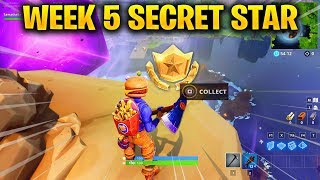 Watch Fortnite Week 8 Secret Battle Star Location Replac Video
