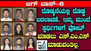 Bigg Boss Season 6 new changes for Voting | Kannada Bigg Boss Season 6