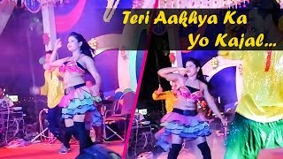 Teri Aakhya Ka Yo Kajal (unplugged) | Sapna Chaudhary | Stage Dance Video | Cover by Satya Bhanja