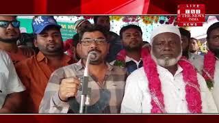 हैदराबाद के नामपल्ली में स्थानीय दौरा कर लोगों से वोट करने की अपील की