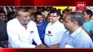 Jhansi ] झाँसी में बुंदेलखंड किसान पंचायत के बैनर तले बड़ी संख्या में किसान 16 दिनों से धरने पर बैठे