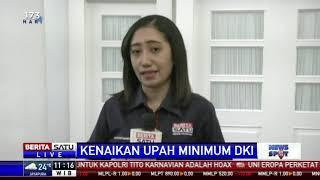 UMP DKI 2019 akan Ditandatangani Hari Ini