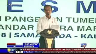 Jokowi Tekankan Pentingnya Pembangunan Infrastruktur untuk Konektivitas