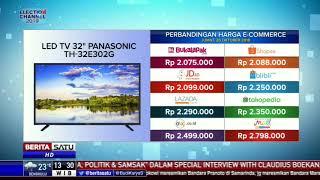 """Perbandingan Harga E-Commerce: Led TV 32"""" Panasonic TH-32E302G"""