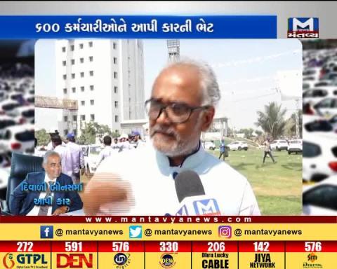 Surat: Conversation with Diamond Merchant Savji Dholakia | Mantavya News