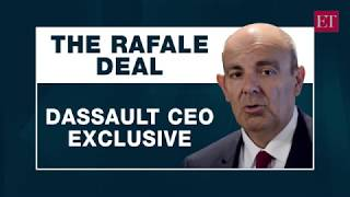 Interview of Eric Trappier, CEO, Dassault Aviation with The Economic Times