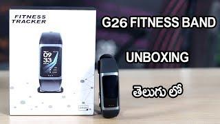 Teamyo G26 Smartwatch Unboxing telugu
