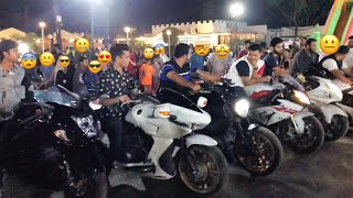 CRAZY Super bikes Public Reactions